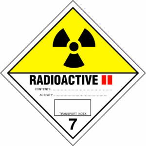 ADR bīstamības zīme Nr.7.B