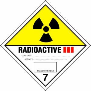 ADR bīstamības zīme Nr.7.C